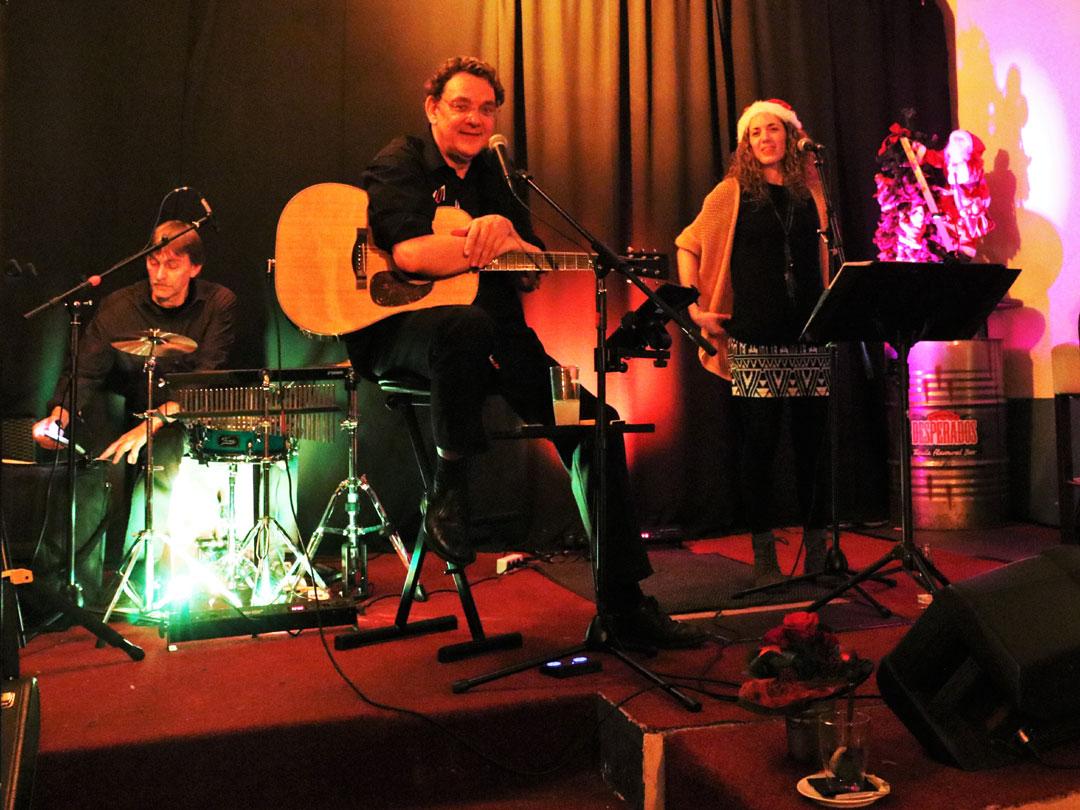 Das Bild zeigt die Gentle Tones bei ihrem Lounge Music Konzert im Rahmen der ADVENTure 2019.