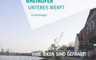 Ihre Ideen zum Unteren Werft am Rheinufer noch bis 23.09. gefragt