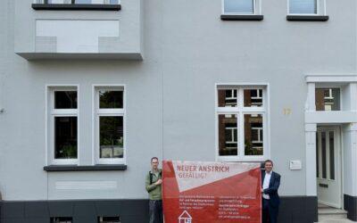 Hof- und Fassadenprogramm: Zwei weitere Häuser fertiggestellt